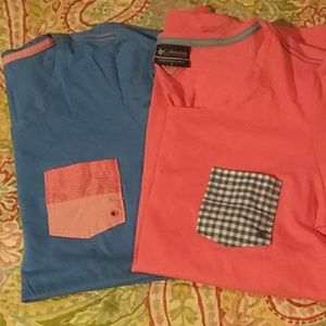 Lot of 2 Columbia tees